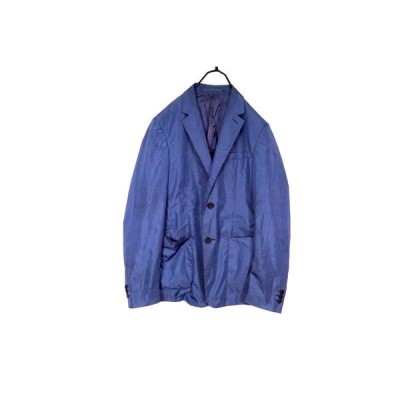 プラダ スポーツ 44(約M) ジャケット ナイロン 無地 アウター ジャンパー 上着 紺 ネイビー 良品 PRADA SPORT 0521f