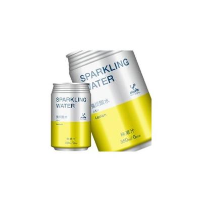 神戸居留地 スパークリングウォーターレモン 350ml缶×24本 賞味期限:3ヶ月以上  送料無料 【8月6日出荷開始】