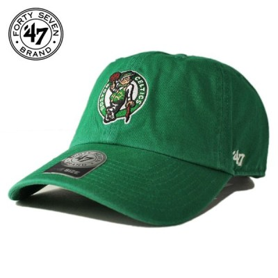47ブランド ストラップバックキャップ 帽子 47BRAND メンズ レディース NBA ボストン セルティックス gn