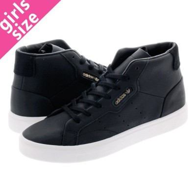 adidas SLEEK MID W アディダス スリーク ミッド ウィメンズ CORE BLACK/CORE BLACK/CRYSTAL WHITE ee4727