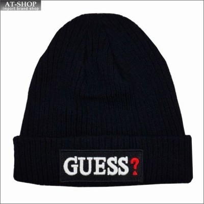 GUESS ゲス 帽子 ニットキャップ ニット帽 AI4A8859DS-NVY ネイビー