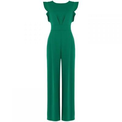 フェイズ エイト Phase Eight レディース オールインワン ジャンプスーツ ワンピース・ドレス Victoriana Jumpsuit Emerald