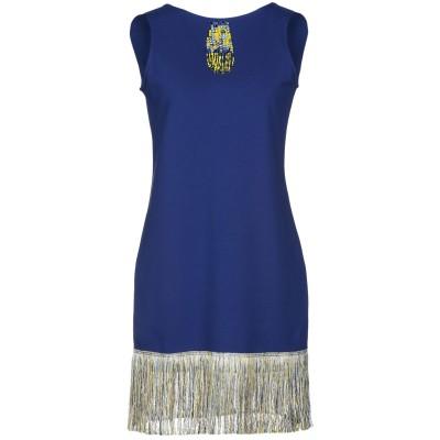 ジジル JIJIL ミニワンピース&ドレス ダークブルー 40 コットン 94% / ポリウレタン 6% ミニワンピース&ドレス
