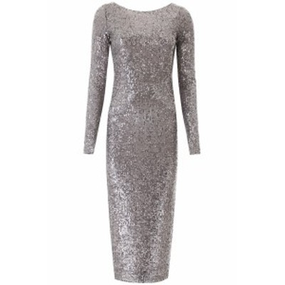 IN THE MOOD FOR LOVE/イン ザ モード フォー ラブ ドレス SILVER GREY In the mood for love sandy sequined midi dress レディース 春