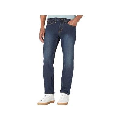 U.S. POLO ASSN. Slim Straight Stretch Five-Pocket Denim Jeans in Blue メンズ ジーンズ Blue