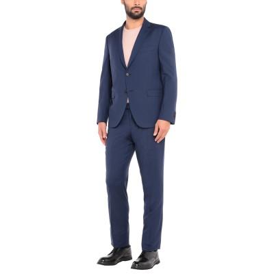 FRADI スーツ ブルー 56 バージンウール 100% スーツ
