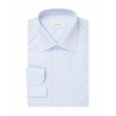 ブリオーニ メンズ ドレスシャツ ワイシャツ Woven Dress Shirt