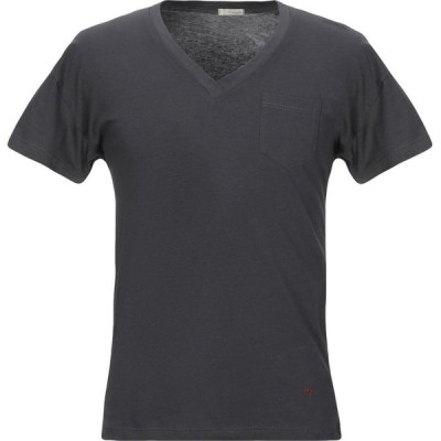プラスピープル (+) PEOPLE メンズ Tシャツ トップス t-shirt Lead