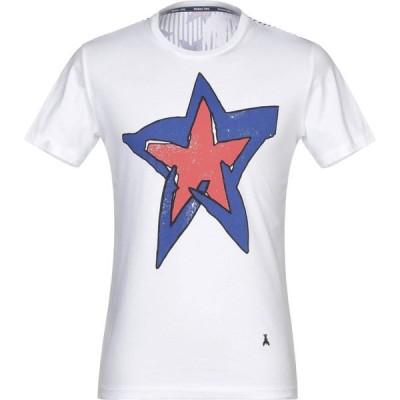 パトリツィア ペペ PATRIZIA PEPE メンズ Tシャツ トップス t-shirt White