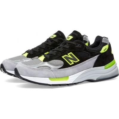 ニューバランス New Balance メンズ スニーカー シューズ・靴 M992AF - Made in USA Grey/Black