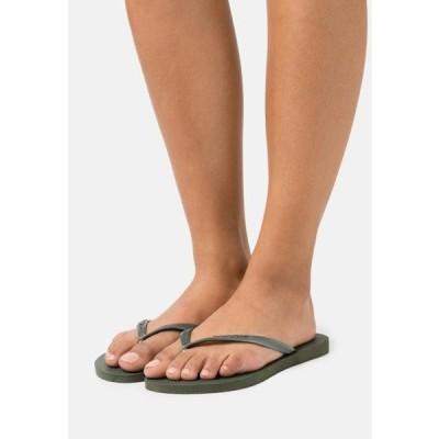 ハワイアナス レディース 靴 シューズ SLIM - Pool shoes - olive green