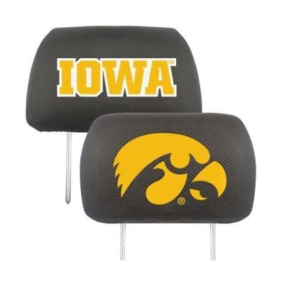 FANMATS NCAA University of Iowa Hawkeyes Polyester Head Rest Cover[並行輸入品]