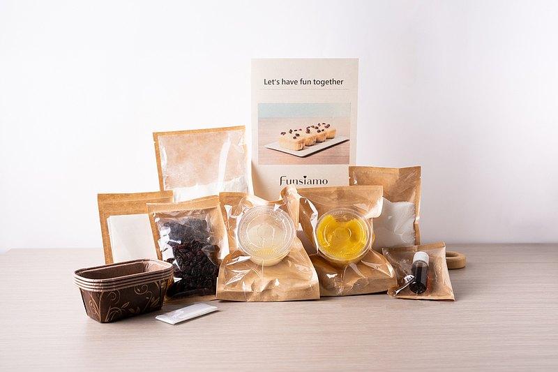 【體驗季】蔓越莓檸檬磅蛋糕  / 含運費 / 材料包、教學影片