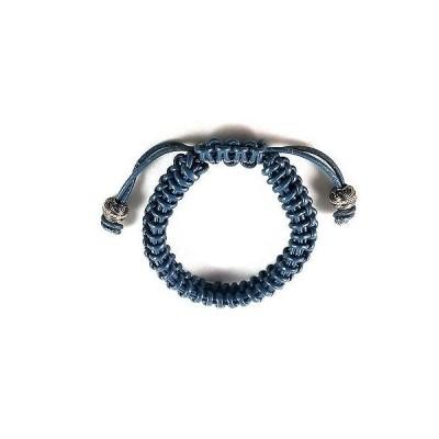 ブレスレット 海外セレクション Stephen Webster Sterling Silver No Regrets GreenBleu Leather Bracelet Adjustable