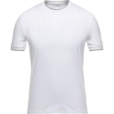 クルチアーニ CRUCIANI メンズ Tシャツ トップス t-shirt White