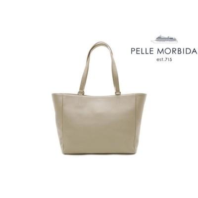 ペッレモルビダ / Pelle Morbida バッグ ve013bg トートバッグ ベージュ 国産(日本製)