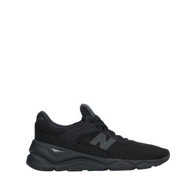 ニュー・バランス NEW BALANCE スニーカー&テニスシューズ(ローカット) ブラック 8.5 紡績繊維 スニーカー&テニスシューズ(ローカッ