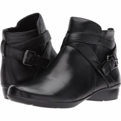 ナチュラライザー Naturalizer レディース ブーツ シューズ・靴 Cassandra Black Leather