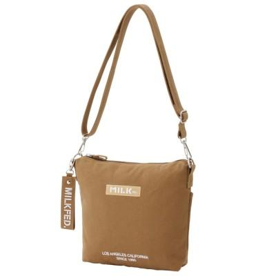 MILKFED. / EMBROIDERED BAR DAILY SHOULDER SMALL BAG WOMEN バッグ > ショルダーバッグ