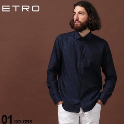 エトロ ETRO シャツ 長袖 総柄 ブランド メンズ トップス 柄シャツ コットン ET129083133