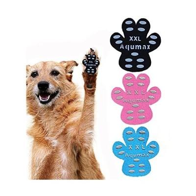 犬 肉球 滑り止め パッド 犬 足 パッド くつ ペット 靴下 滑り止め 肉球 保護 傷防止 すべり 止め フット 犬 用 パッド-硬い木の床から滑り