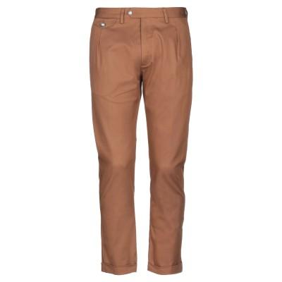 OFFICINA 36 パンツ ブラウン 50 コットン 98% / ポリウレタン 2% パンツ