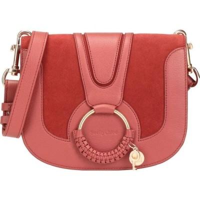 クロエ SEE BY CHLOE レディース ショルダーバッグ バッグ hana small crossbody bag Brick red