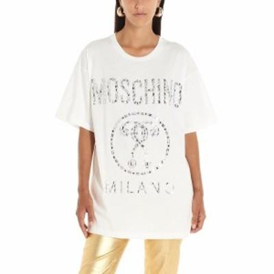 MOSCHINO/モスキーノ Tシャツ Bianco レディース 秋冬2019 J070554403002 ju