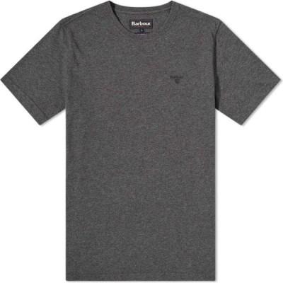 バブアー Barbour メンズ Tシャツ トップス sports tee Slate Marl