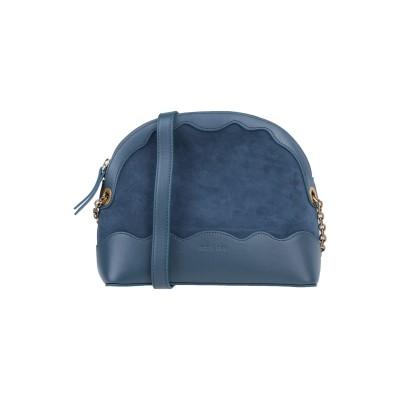 NAT & NIN メッセンジャーバッグ ダークブルー 柔らかめの牛革 100% / 牛革 / 指定外繊維 メッセンジャーバッグ