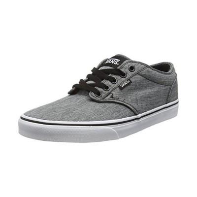 Vans Men's Atwood Low-Top Sneakers, Grau (Rock Textile Black/White), 11 M