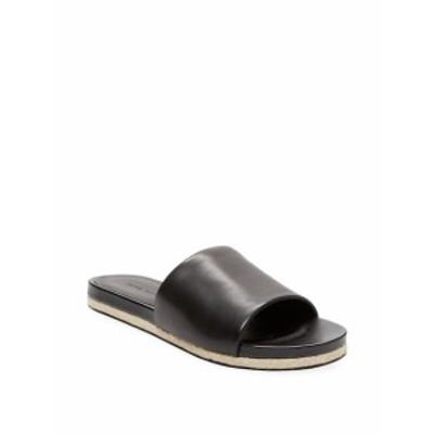 ピュアネイビー レディース シューズ サンダル Solid Leather Slide Sandal