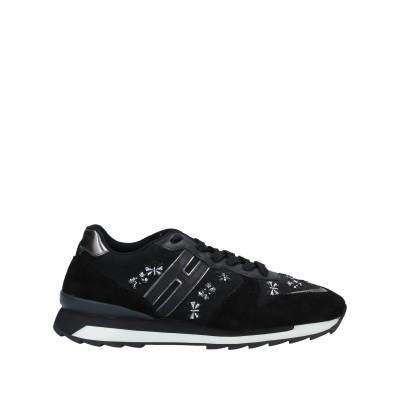 ホーガン・レベル HOGAN REBEL スニーカー&テニスシューズ(ローカット) ブラック 37.5 革 / 紡績繊維 スニーカー&テニスシューズ