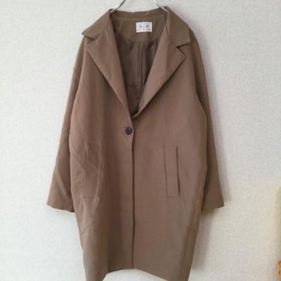 IU アイユー レディース アウター チェスターコート ブラウン 韓国ファッション