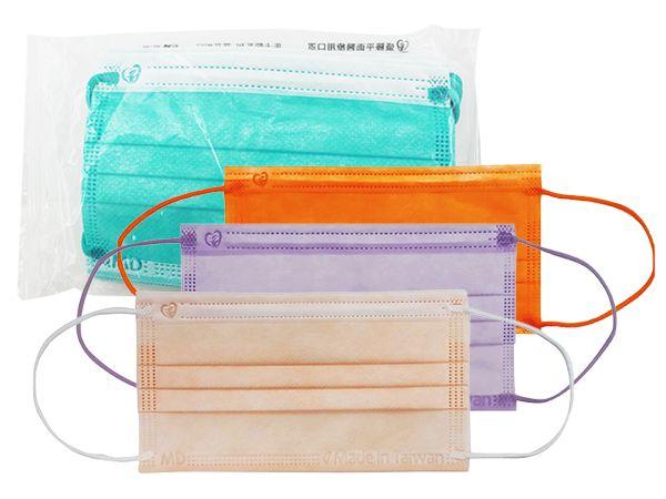盛籐~馬卡龍系列 兒童平面醫療用口罩(1包10入) 款式可選【DS001596】MD雙鋼印