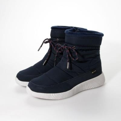 【GORE-TEX】マドラスウォーク madras Walk 軽くて履きやすく暖かい 足元の冷え対策に  防寒仕様カジュアルブーツ MWL2203(ネイビー)