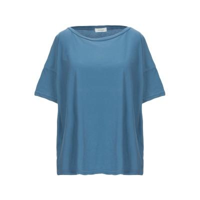 CROSSLEY T シャツ パステルブルー XS コットン 100% T シャツ