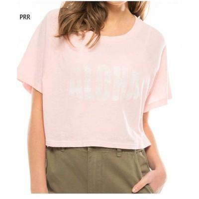 ビラボン レディース ブロンド ジャスト ビーチ The Salty Blonde JUST BEACHIN Tシャツ 半袖Tシャツ トップス カジュアルウェア BA014200
