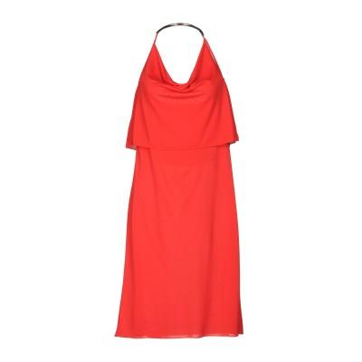クリスティーズ CHRISTIES ミニワンピース&ドレス レッド S ポリエステル 100% ミニワンピース&ドレス