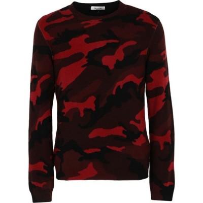 ヴァレンティノ VALENTINO メンズ ニット・セーター トップス sweater Maroon