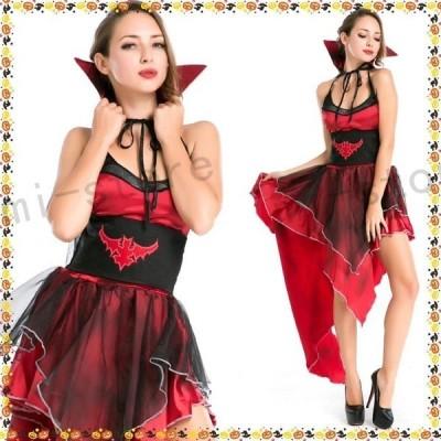 ハロウィン吸血鬼HALLOWEENハロウィンヴァンパイアコスプレ衣装仮装ハロウィン衣装吸血鬼女王コスチューム大人仮装ハロウィーン