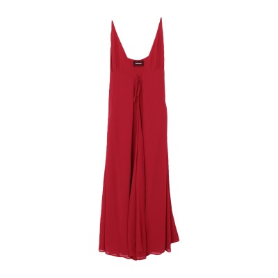 REFORMATION ロングワンピース&ドレス レッド 8 レーヨン 100% ロングワンピース&ドレス