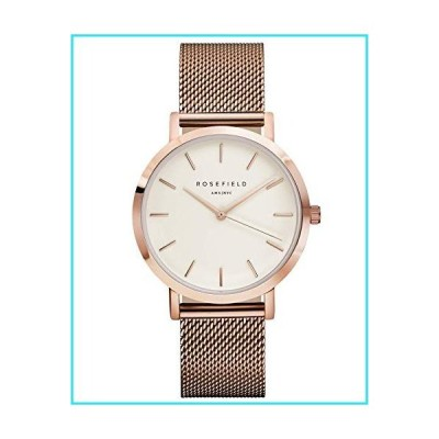 Rosefield Mercer Womens Analog Quartz Watch with Stainless Steel Gold Plated Bracelet MWR-M42【並行輸入品】