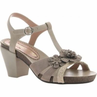 ポエティックライセンス Poetic Licence レディース サンダル・ミュール シューズ・靴 Poplin T Strap Sandal Stone Leather/Textile