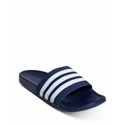 アディダス メンズ サンダル シューズ Adilette Comfort Slide Sandals Dark Blue