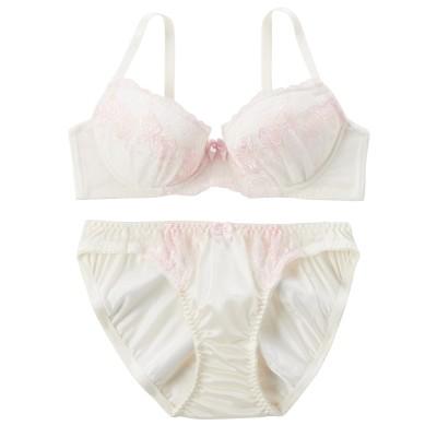 ローズガーデンブラジャー・ショーツセット(C70/M) (ブラジャー&ショーツセット)Bras & Panties