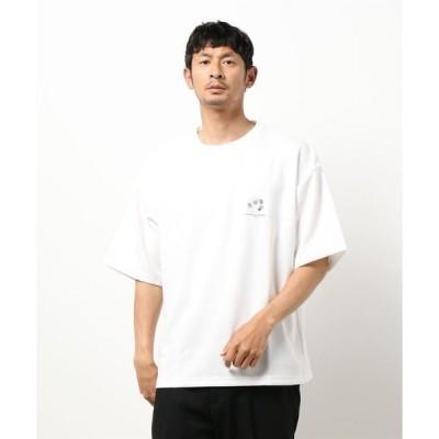 tシャツ Tシャツ BG/ワンポイント刺繍バックプリントTシャツ