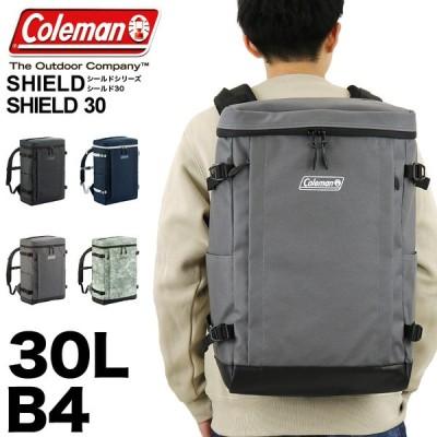 Coleman(コールマン) SHIELD(シールド) SHIELD30(シールド30) スクエアリュック デイパック リュック バックパック 30L B4 PC収納 撥水  送料無料