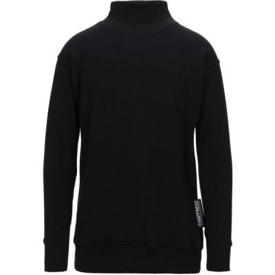 ハピネス HAPPINESS メンズ スウェット・トレーナー トップス sweatshirt Black