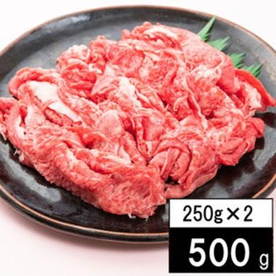 【500g(250g×2パック)】日本三大銘柄牛として 有名な「近江牛」切り落し